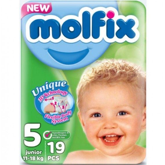 MOLFIX Couche 5 ( 19 Pieces )