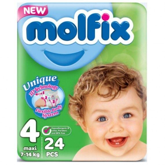 MOLFIX Couche 4 ( 24 pièces )