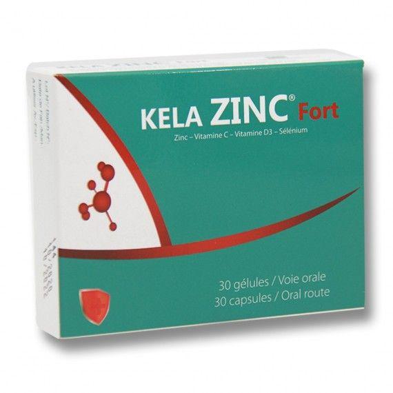 KELA ZINC FORT 30 Gélules