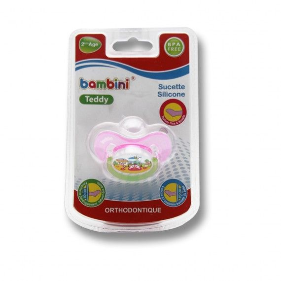 BAMBINI - sucette teddy -...