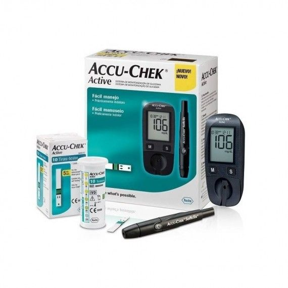 PACK ACCU-CHEK Active :...