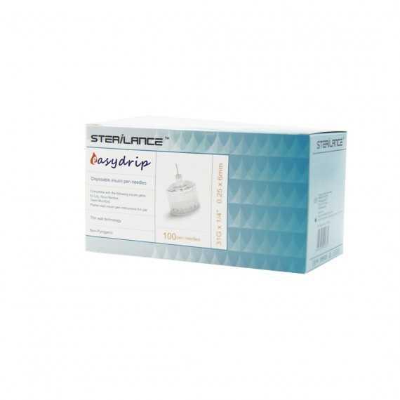 Sterilance Easydrip 6mm * 100