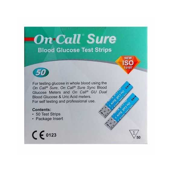 On Call Sure bandelettes B 50