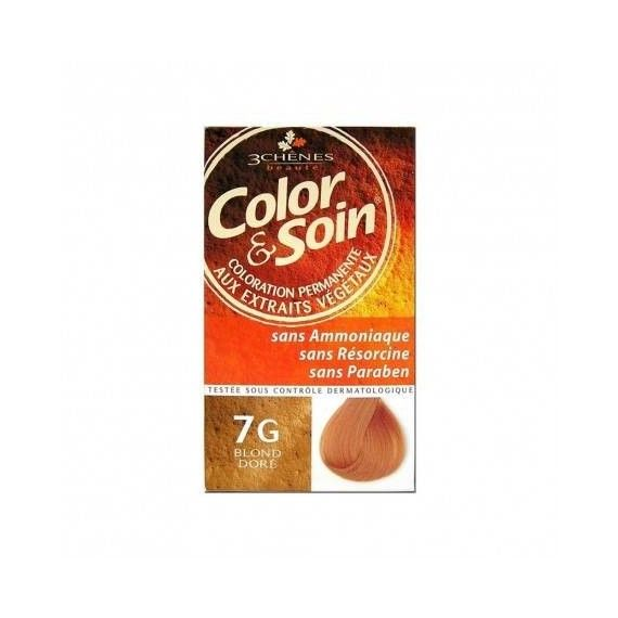 3 CHENES - coloration blond...